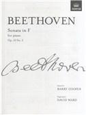 Ludwig Van Beethoven: Piano Sonata In F Op.10 No.2