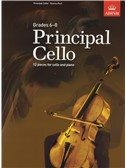ABRSM: Principal Cello (Book/CD)