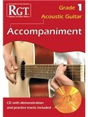 Registry Of Guitar Tutors: Acoustic Guitar Accompaniment - Grade 1 (Book/CD)