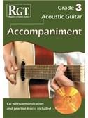 Registry Of Guitar Tutors: Acoustic Guitar Accompaniment - Grade 3 (Book/CD)