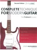 Joseph Alexander: Complete Technique For Modern Guitar - Second Edition
