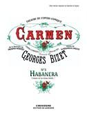 Georges Bizet: Carmen - No. 3 Habanera (Voice/Piano). Sheet Music