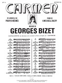 Georges Bizet: Carmen - No. 5 Seguidilla (Piano/Voice). Sheet Music