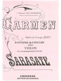 Pablo De Sarasate: Carmen Fantasy