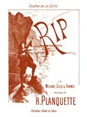 Robert Planquette: Rip (Piano/Voice)