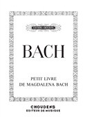 J. S. Bach: Notebook For Anna Magdalena Bach. Piano Sheet Music