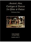 Allan Alexander/ Jessica Walsh: Ancient Airs, Cantigas And Dances (Book/Cd)