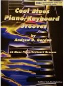 Andrew D. Gordon: Cool Blues Piano Keyboard Grooves (Book/Online Audio)