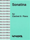 Malcolm Arnold: Sonatina Op.29 For Clarinet And Piano. Sheet Music