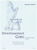 Philippe Gaubert: Divertissement Grec For 2 Flutes And Harp Or Piano