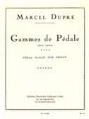 Marcel Dupré: Gammes de Pédale (Organ)