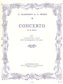 Alexandre Glazounov: Saxophone Concerto Op.109 In E Flat (Alto Saxophone/Piano)