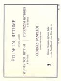Georges Dandelot: Etude Du Rythme Vol