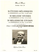 Marcel Moyse: 50 Melodic Studies after Demersseman, Op. 4 - Volume 1 (Flute). Sheet Music