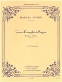 Marcel Dupré: Complete Fugue Lessons - Volume 1