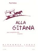 Paul Dukas: Alla Gitana (Alto Saxophone/Piano) (Mule)