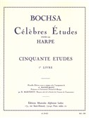 Robert Nicolas-Charles Bochsa: 50 Etudes Op.34 Vol.1 (Harp)
