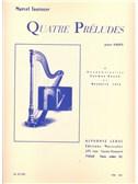 Marcel Tournier: Quatre Préludes (Harp)