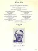 Marcel Mule: 53 Etudes Vol.2 - D