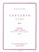 G.F. Handel: Concerto in F minor (Trombone and Piano). Sheet Music
