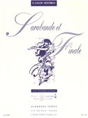 Raymond Gallois Montbrun: Sarabande Et Finale (Trumpet And Piano)