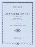 Concerto En Sol Pour Flûte Et Piano