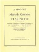 Aurelio Magnani: Méthode Complète Vol.1 (Clarinet)