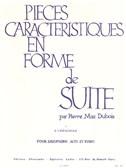 Pierre Max Dubois: Pieces Caracteristiques Op.77 No.1 - A l