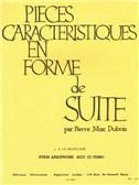 Pierre Max Dubois: Pièces Caractéristiques Op.77 No.3 - A La Française (Alto Saxophone/Piano)
