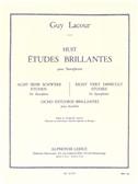 Guy Lacour: Huit Études Brillantes (Saxophone)