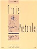 Henri Tomasi: Trois Pastorales For 3 Flutes (Score/Parts)