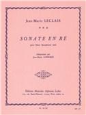 Jean-Marie Leclair: Sonata in D (2 Saxophones arr. Jean-Marie Londeix