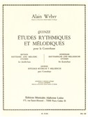 Alain Weber: 15 Rhythmic And Melodic Studies (Double Bass)