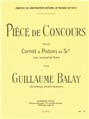 Guillaume Balay: Pièce De Concours (Cornet/Piano)