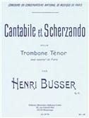 Henri Busser: Cantabile Et Scherzando Op.51 (Trombone/Piano)