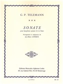 Georg Philipp Telemann: Sonata In C Minor For Soprano Saxophone And Piano