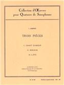 Isaac Manuel Francisco Alb'niz: 3 PiŠces (Saxophones 4)