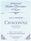 Johann Pachelbel: Chaconne En Fa Mineur (22 Variations) No. 64