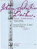 J.S. Bach: Exercitium (Solo Treble Recorder) (Veilhan)