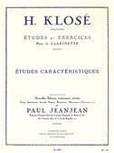 Hyacinthe Klosé: Etudes Et Exercices Pour La Clarinette - Exercices Caractéristiques