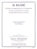 Hyacinthe Klosé: études et Exercices for Clarinet