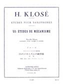 Hyacinthe Klosé: 25 études de Mécanisme for Saxophones