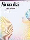 Suzuki Viola School: Volume 5 (Viola Part) (Revised Edition)