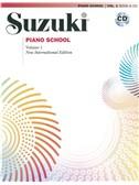 Suzuki Piano School New International Edition Piano - Volume 1 (Book and CD)