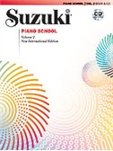 Suzuki Piano School New International Edition - Volume 2 (Book/CD). Sheet Music, CD