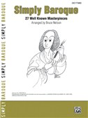 Simply Baroque - 27 Well Known Masterpieces