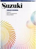 Suzuki Violin School Piano Accompaniment - Volume 3 (Revised Edition)