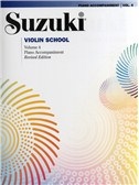 Suzuki Violin School Volume 4 - Piano Accompaniment (Revised Edition)