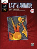 Alfred Jazz Easy Play-Along Series Volume 1: Easy Standards