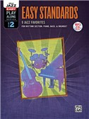 Alfred Jazz Easy Play-Along Series Volume 2: Easy Standards (Book/MP3 CD)